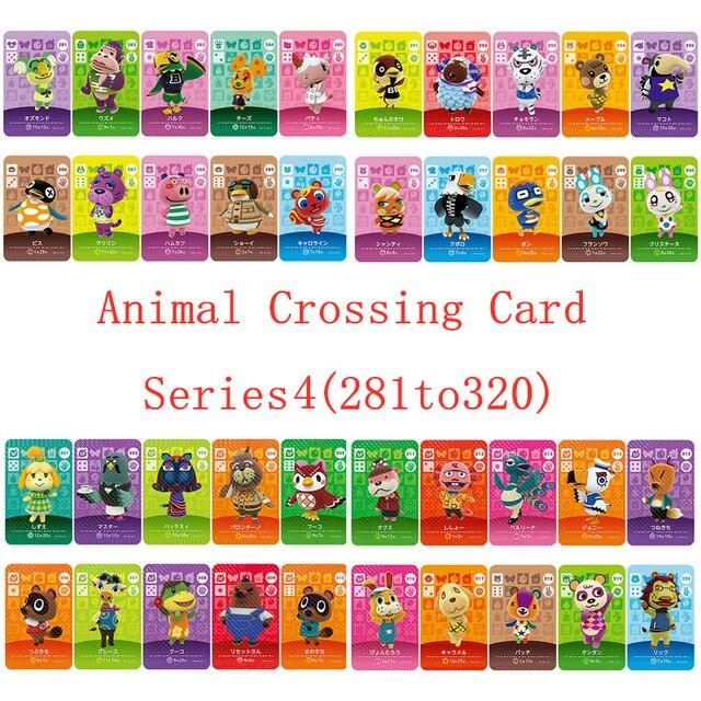 NS игровая серия 3 (281 до 320) карточка для скрещивания животных Amiibo карточка для работы на английском языке