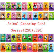 NS Game Series 3 (281 to 320) Animal Crossing Card Amiibo Card Work for English version