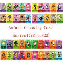 Seria gier NS 3 (281 do 320) Animal Crossing Card karta Amiibo działa na angielska wersja