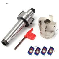 MT3 FMB22 400R 50 22 Face End Mill + 4pcs Blue nano APMT1604 Inserts + 1 Pcs T15 Wrench