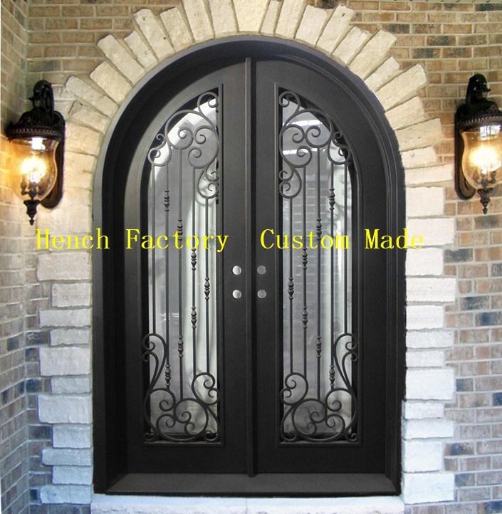 Shanghai Hench Brand China Factory 100% Custom Made Sale Australia Iron Gate Double Door