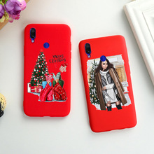 Phone Case For Xiaomi Redmi Note 8 Pro 7 6 5A Prime Case Matte Cover For Xiaomi Redmi Note 5 Pro 4x Mi A2 A1 Lite Christmas Capa one punch man anime phone case for xiaomi redmi s2 y3 y2 note 7 7s 6 5 pro 4 4x mi f1 9 8 a2 lite pattern cover capa coque