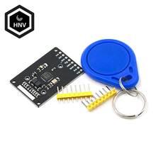 Mini módulo rfid rc522 kits s50 13.56 mhz 6cm com tags spi escrever & ler para arduino uno 2560