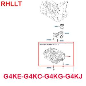 Image 3 - New oil pump balance shaft assembly 2330025230 for hyundai Sonata Santa fe Tucson IX35 for kia Sportage Optima K5 Sorento 2.4L