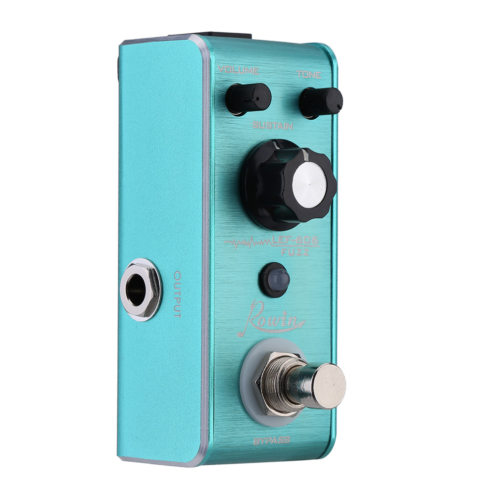 LEF-606 Fuzz Pedal Mini Portable Guitar Effect Pedal High Quality Guitar Parts & Accessories image