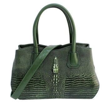 Famous Brand Women Handbags Ladies Hand Bags Luxury Handbags Women Bags Designer 2019 Crocodile Leather Bags For Women