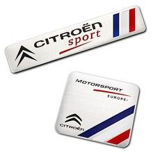 Sport-Stickers Accessories Aluminium-Alloy-Emblem Car-Styling Celysee C5 VTS C4 C3 Citroen Xsara
