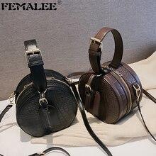 Brand Designer Shoulder Bag Women Mini Round Bags