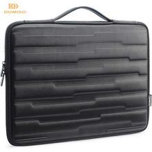 DOMISO 10 13 14 15.6 インチ耐衝撃ラップトップバッグハンドル保護ケース互換 macbook 、デル、 Hp レノボ黒