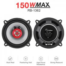 2pcs 5 Inch 91dB 2 Way Universal Car Coaxial Speakers