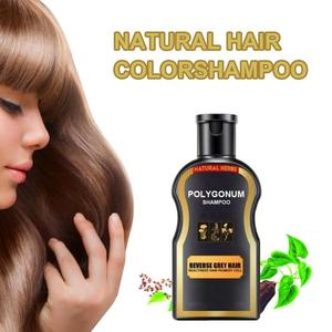 Shampoos Grey Reverse Natural Darkening Black Hair Color Shampoo Ginger Coloring 30ml Shampoo Conditioner