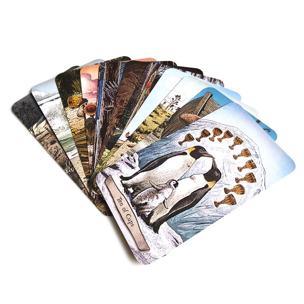 78 PCS / Set New Animal Totem Tarot Cards Deck Card Games Board Table Game For Family Party Playing Card Entertainment