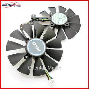 Free Shipping T129215SU 12V 0.5A 87mm VGA Fan For ASUS GTX1050TI GTX1060 GTX1070 RX480 Graphics Card Cooler Cooling Fan(China)