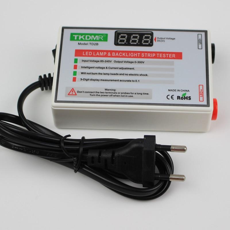 TKDMR NOVÝ LED Tester 0-300V Výstup LED Tester podsvícení - Měřicí přístroje - Fotografie 3