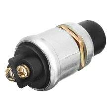 1 шт кнопочный стартер водонепроницаемый автомобильный выключатель