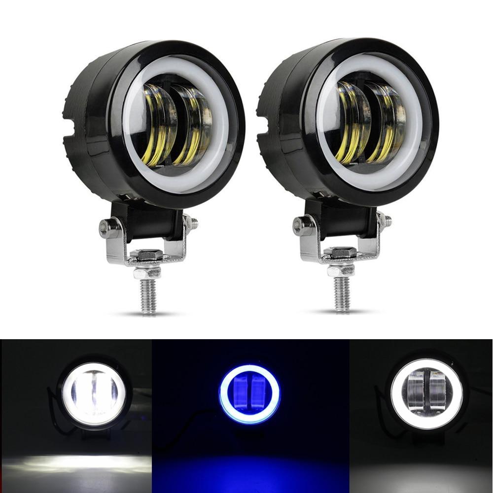 3 дюймовый круглый квадратный светодиодный светильник 12V для автомобиля 4WD ATV SUV UTV грузовых автомобилей 4x4 внедорожный мотоцикл авто; Обувь д...