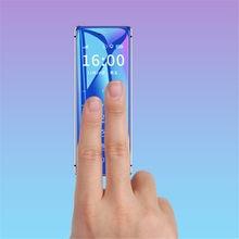 Super Mini Ulcool V99 Mobiel Ultradunne Card Metalen Body Bluetooth 2.0 Dialer Anti-Verloren Fm MP3 Dual Sim-kaart mini Mobiele Telefoon