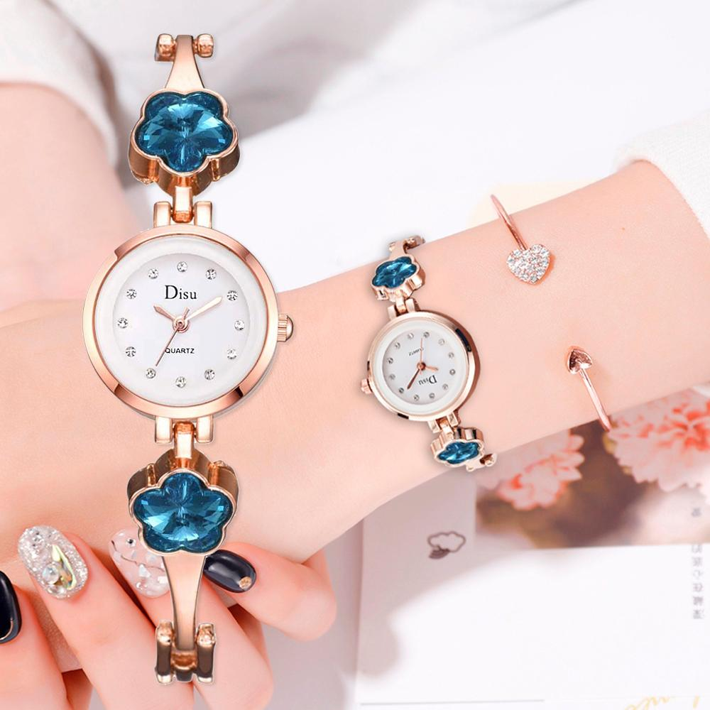 Casual Bangle Quartz Watch