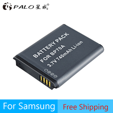 BP-70A EA-BP70A IA-BP70A BP70A IABP70A Батарея для SAMSUNG AQ100, DV150F, ES65, ES67, ES70, ES71, ES73, ES74, ES75, ES80, MV800 ES90