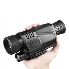 Infrared Digital Night Vision Monoculars with 8G TF card full dark 5X40 200M range Hunting Monocular Night Vision Optics