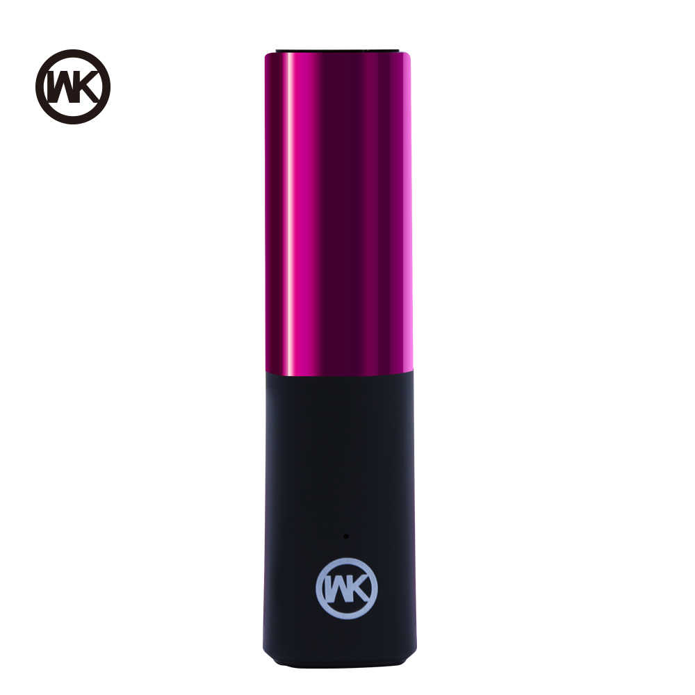 WEKOME chargeur Portable pour Xiaomi Powerbank mini batterie externe rouge à lèvres batterie externe pour iPhone X Xiaomi Bateria Externa