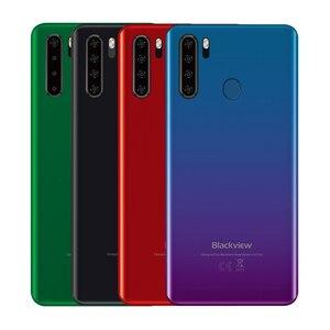 Image 5 - Blackview A80 Pro глобальная версия 4 аппарат не привязан к оператору сотовой связи Quad сзади Камера мобильный телефон 6,49 в виде капли воды, 4 Гб + 64 Гб Octa Core Android 9,0 мобильных телефонов