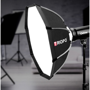 Image 5 - TRIOPO 120cm Bowens Mount Portable Octagon Umbrella Outdoor Video Softbox w Carrying Bag for Photography Studio Soft Box