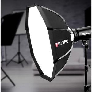 Image 5 - TRIOPO paraguas portátil de 120cm con soporte Bowens, sombrilla de vídeo de exterior, bolsa de transporte con bolsa para estudio de fotografía