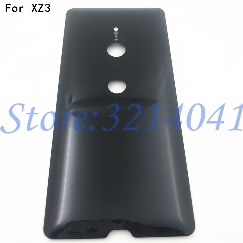 Original Glass For Sony Xperia XZ3 H9436 H9493 H8416 H9496 Back Battery Cover Rear Door back case Housing Case No Camera lens