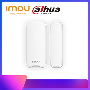 Dahua imou Smart 433MHz Wireless Door Window Magnetic Sensor Detector Indoor For Home Security Alarm System(Battery not include) wireless door window sensor detector magnetic switch normally closed for our home security alarm system
