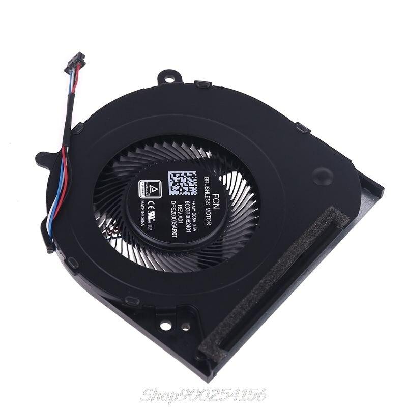 Laptop CPU Cooling Fan Radiator Replacemen for Hp 14-CF 14-CK 14-CM 240 246 G7 240G7 246G7 6033B0062401 L23189-001 S17 20