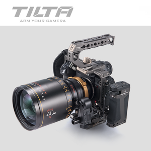 Image 5 - Tilta TA T38 A G DSLR rig Camera CAGE FOR PANASONIC S1H S1 S1R camera full cage S1H rig top handle side focus handle