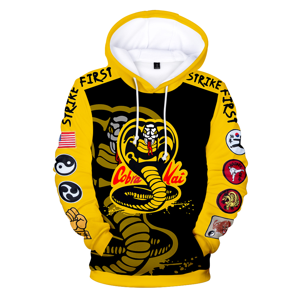 2021 cobra kay harajuku 3d hoodie com capuz tendência de rua dos homens de alta qualidade impresso senhoras com capuz primavera e outono roupas