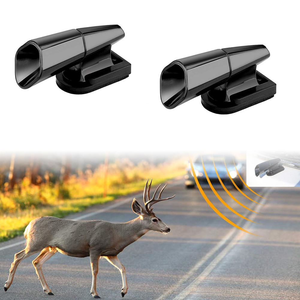 2Pcs Ultrasonic Animal Saving Wind Whistle Cars Motorcycle Deer Warning Repeller Automobile Carros Interior New Hot Accessories