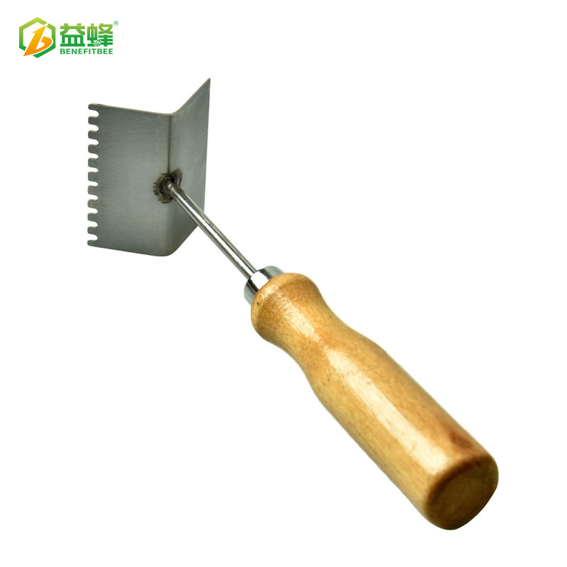 Beekeeping Tools Factory Price Wholesale Beehive Mobile Clean Workshop Honeycomb Frame Qing Clean Water Chan Wooden Handle Stain