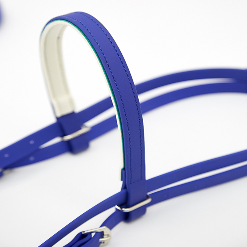PromoteÕSaddle-Accessories Reins HALTER Blue Harness-Supplies Red PVC Non-Slip Speed-Water