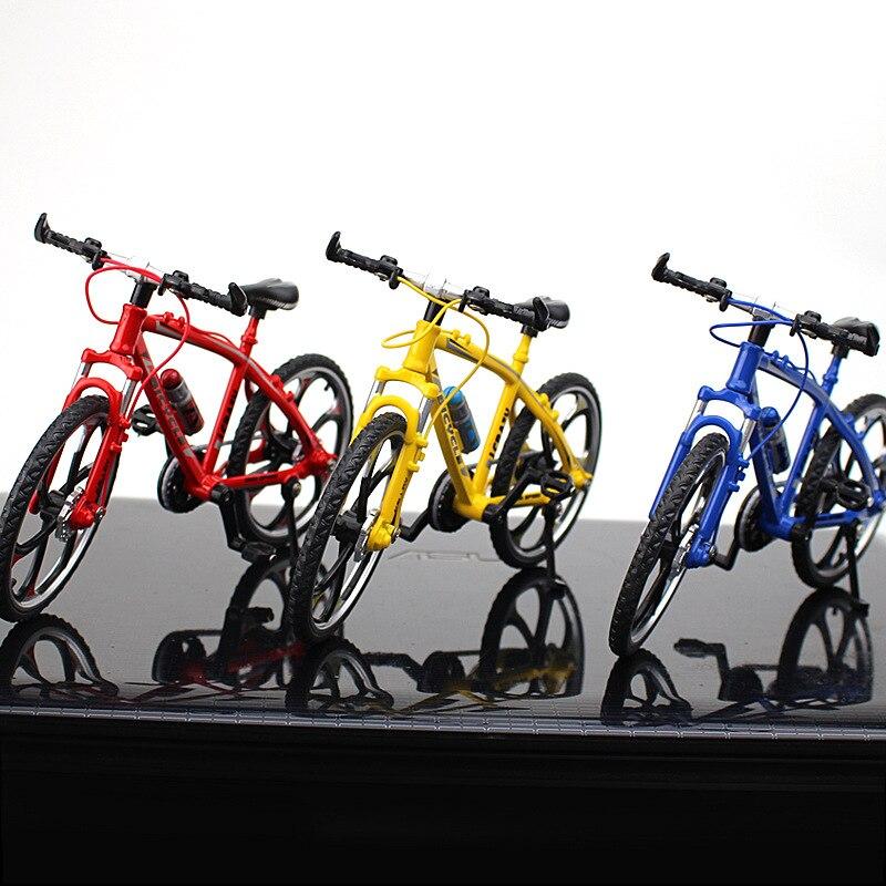 Creative Alloy Model Simulation Bike Accessories Mini Simulation Bike Mountain Bike Toy Gift Bike Model