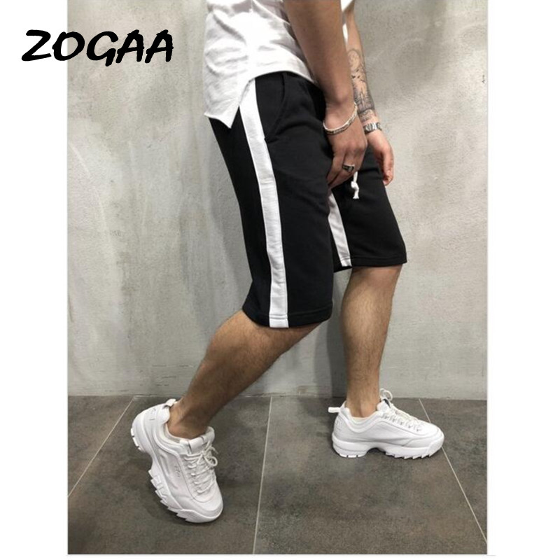 ZOGAA 2020 Men's Casual Wild Sports Pants European And American Style Color Matching Casual Sports Shorts Men