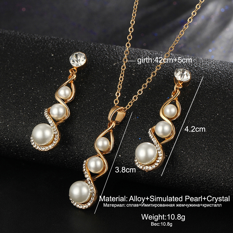 Creative-Spiral-Simulated-Pearl-Jewelry-Set-Fashion-Shiny-Zircon-Pendant-Necklaces-Earrings-For-Women-Party-Wedding (1)