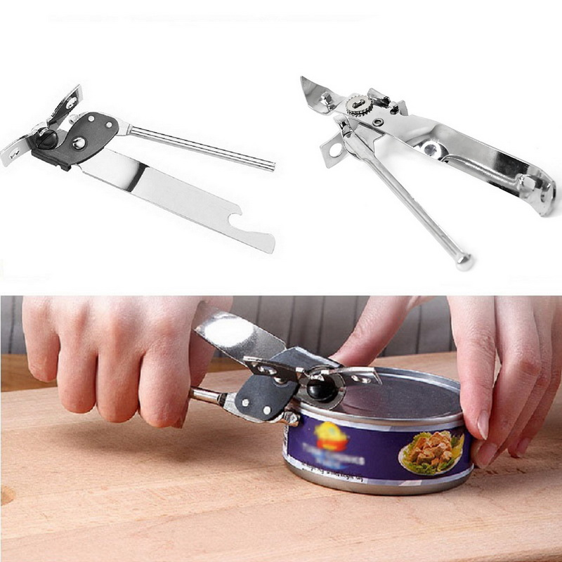 Home Manual Tool Stainless Steel Butterfly Jar Can Opener Wine Bottle Gadgets WE