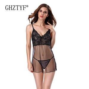 Image 1 - Bielizna Erotyczna ฤดูร้อนชุดชั้นในเซ็กซี่ชุด PLUS ขนาดชุดชั้นในเร้าอารมณ์ Babydoll ชุดนอนสำหรับสตรี Sex Nightdress
