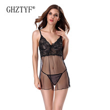 Bielizna Erotyczna Summer Dress Sexy Underwear Plus Size Lingerie Hot Erotic Babydoll Pajamas for Women Sex Porno Nightdress