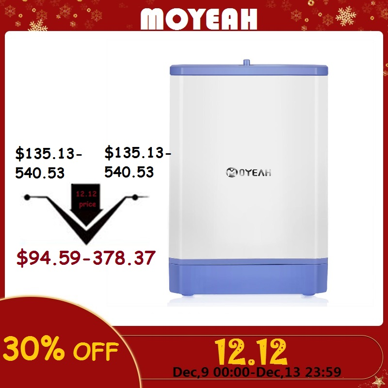 MOYEAH Travel Mini Oxygen Concentrator Generator Portable Oxygenic Generator Machine Air Purifier 3.5L/Min 6000mAh Battery