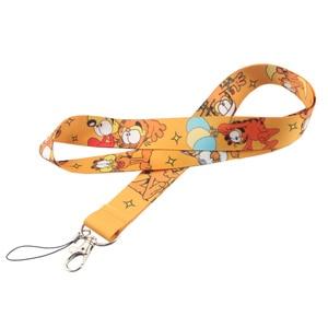 Image 4 - CA223 Wholesale 10pcs/lot Cat 2019 New Lanyard Key Strap for Phone Keys Cartoon Lanyards ID Badge With Key Ring Holder