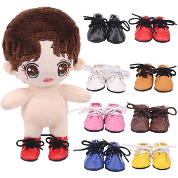 5*2.8 Cm Doll Mini Toy Shoes For EXO Dolls Fit 14.5 Inch baby Nancy Doll For 1/6 BJD Doll&34 Cm Paola Reina Doll Clothes Toy DIY image