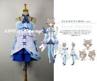 New Re:Zero kara Hajimeru Isekai Seikatsu Felix Argyle Cosplay Costume Cat Outfit Halloween Costumes for Women/Men Anime Costume