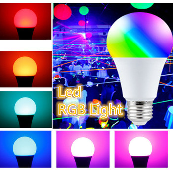 Led RGB Light Smart Control Lamp Colorful Changing Bulb Fairy Light LED Garland Lights for Home Christmas Wedding Decoration wedding reception under vase lighting rgb color changing 6inch round led light base for table vases decoration