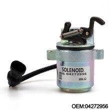 Deutz Motor için 1011 12V Yakıt Kapatma Cihazı durdurma solenoidi Vana 04287583 0428-7583 YC101554