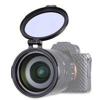 UURig RFS ND 49 мм 58 мм 67 мм 72 мм 77 мм 82 мм быстросъемный переключатель держатель объектива фильтр для DSLR камеры фотографии кронштейн объектива