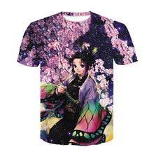 3D Print Baby Boy T Shirt Girl Demon Slayer Kid Tshirt Japan Anime Harajuku Ghost Blade Funny T-shirt Men/women Short Sleeve